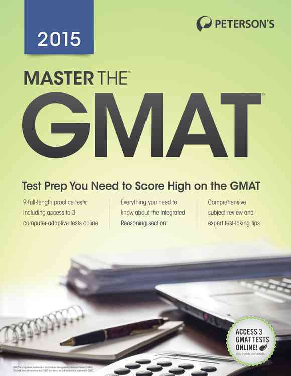 Master the Gmat 2015 By Peterson's (COR)
